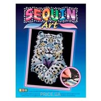 Фото Sequin Art BLUE Snow Leopard (SA1404)