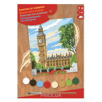 Фото Sequin Art PAINTING BY NUMBERS JUNIOR Big Ben (SA1331)