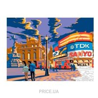 Фото Sequin Art PAINTING BY NUMBERS SENIOR London Piccadilly (SA1519)