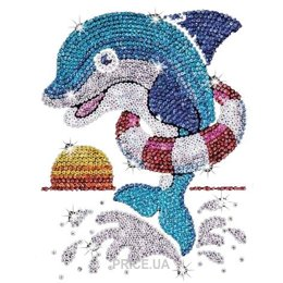 Sequin Art Red Jack the Dolphin