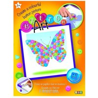 Sequin Art BUTTON Butterfly (SA1528)