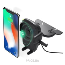 Фото iOttie One Touch 4 Wireless Qi Charging CD Mount (HLCRIO136/HLCRIO136AM)